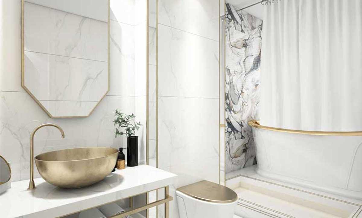 Banyo ve Hamamlarda Mermer Kullanımı